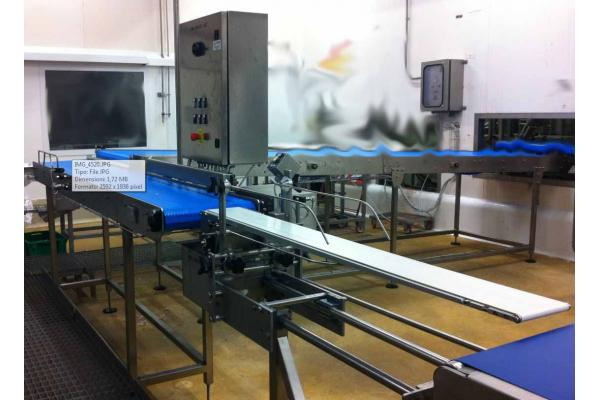 Macchinari industriali: Bars for slicing packaging plant