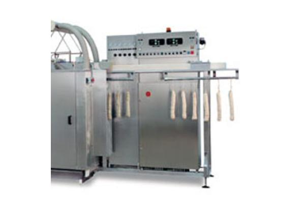 Macchinari industriali: Blowing machine for removing mold from salamis