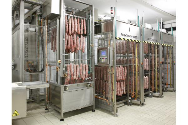 Macchinari industriali: Loader for salami and prosciutto TFRC