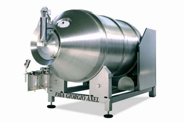 Macchinari industriali: Salting and massaging under vacuum machine